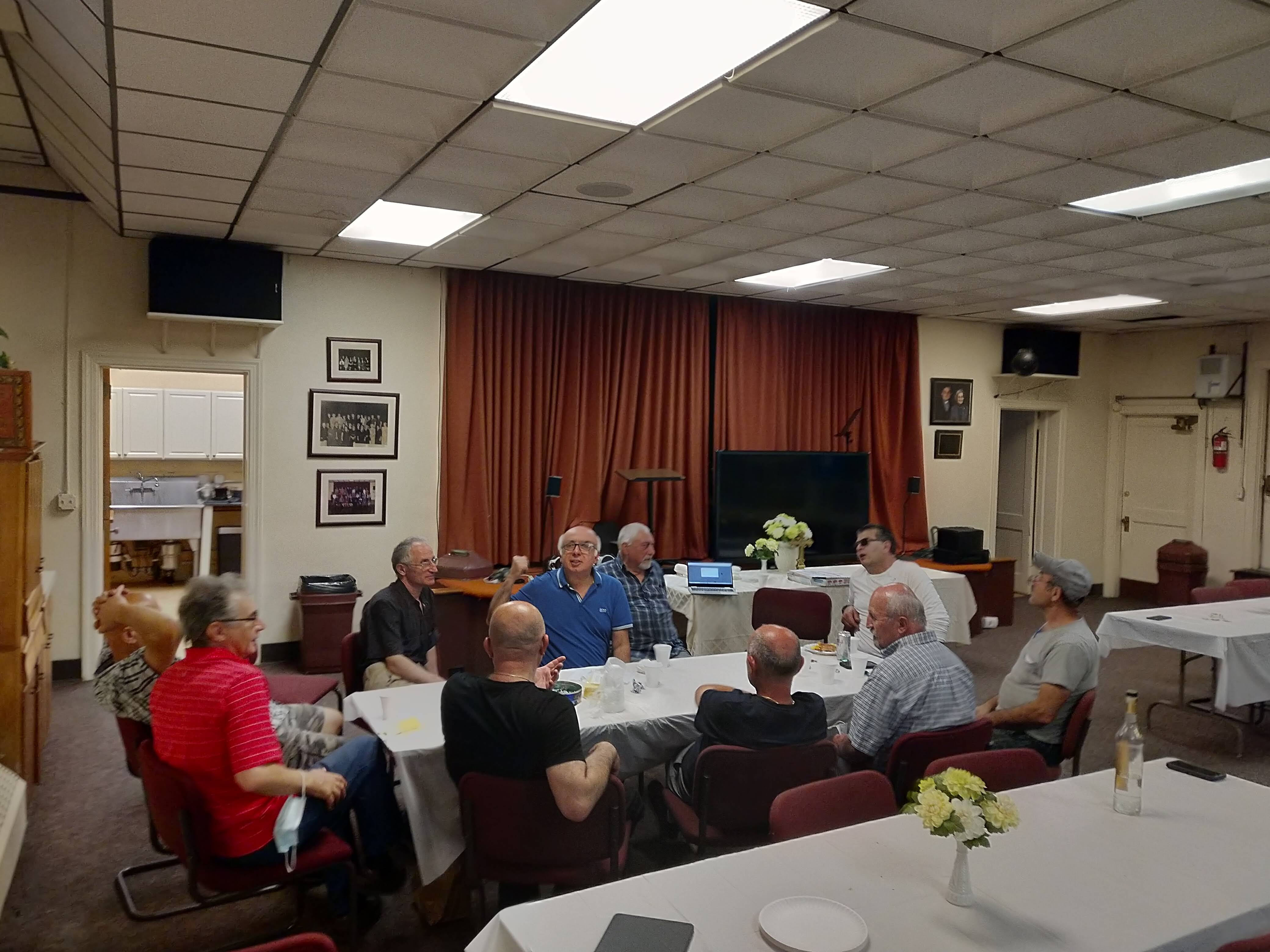 Men's Club Vartavar Dinner Meeting