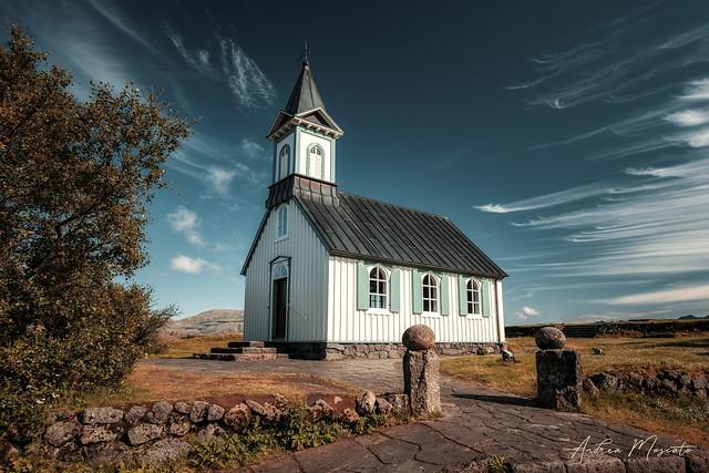 Þingvallakirkja - Þingvellir National Park (Iceland)