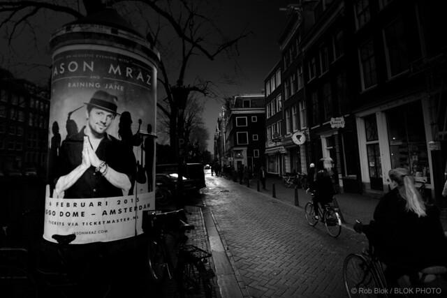 Amsterdam Street Scene-BPX2913bw