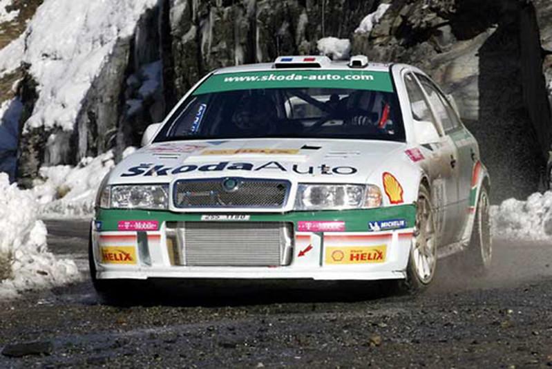 Skoda Octavia WRC – Montecarlo 2003