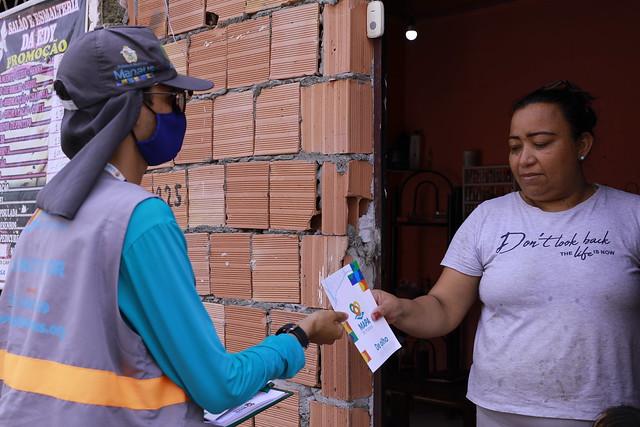 01.07.21 - Prefeitura realiza coleta de dados para o Mapa de Manaus