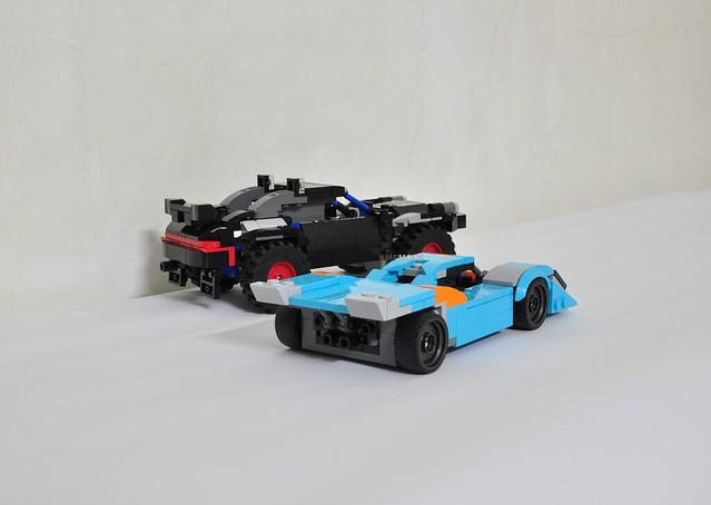 Alternate Lego 76905 - Porsche 917K and Baja 911