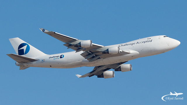 TLV - Challenge Airlines Boeing 747-400F OO-ACF