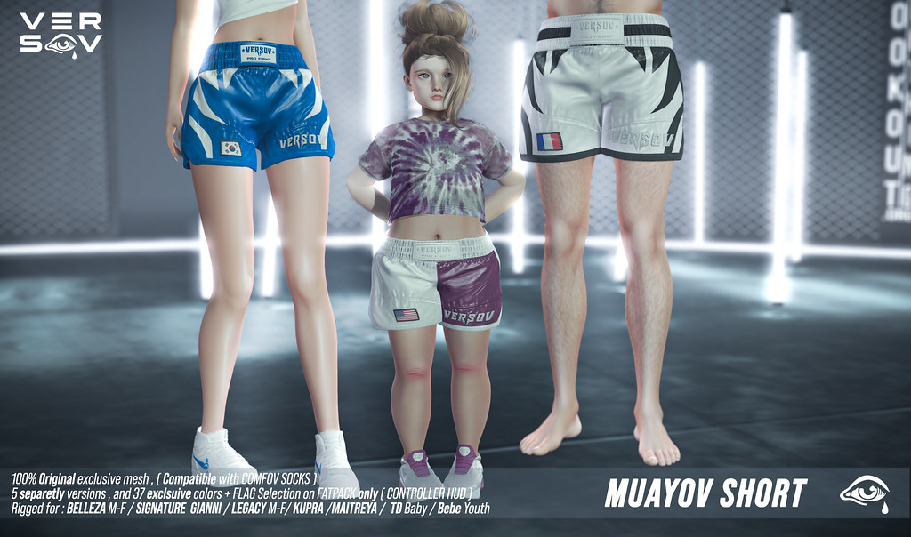 [ Versov // ]  MUAYOV SHORT available at TMD event !