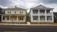 CNE's new houses in Highland Park, Chattanooga