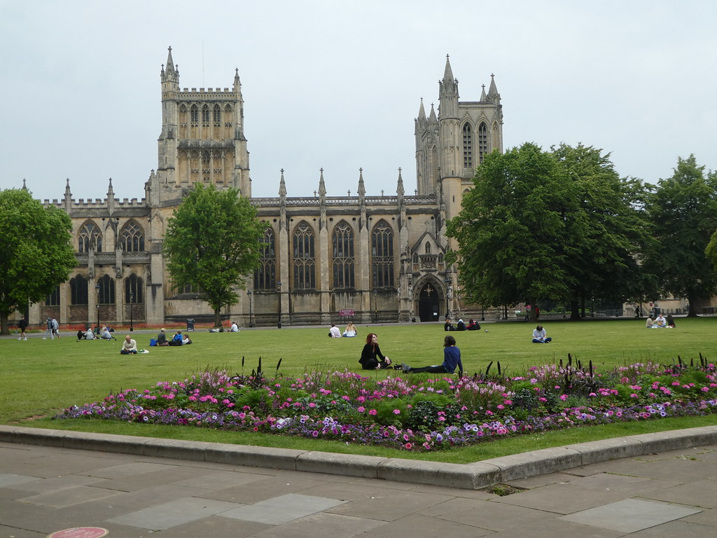 Bristol Cathedral from College Green