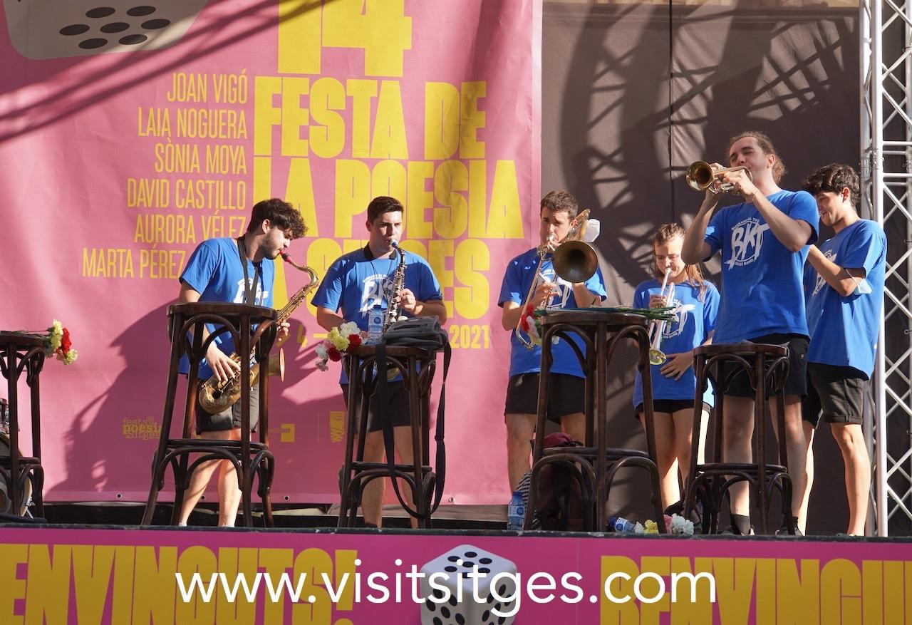 Rebuda dels poetes - Festa Poesia Sitges 2021
