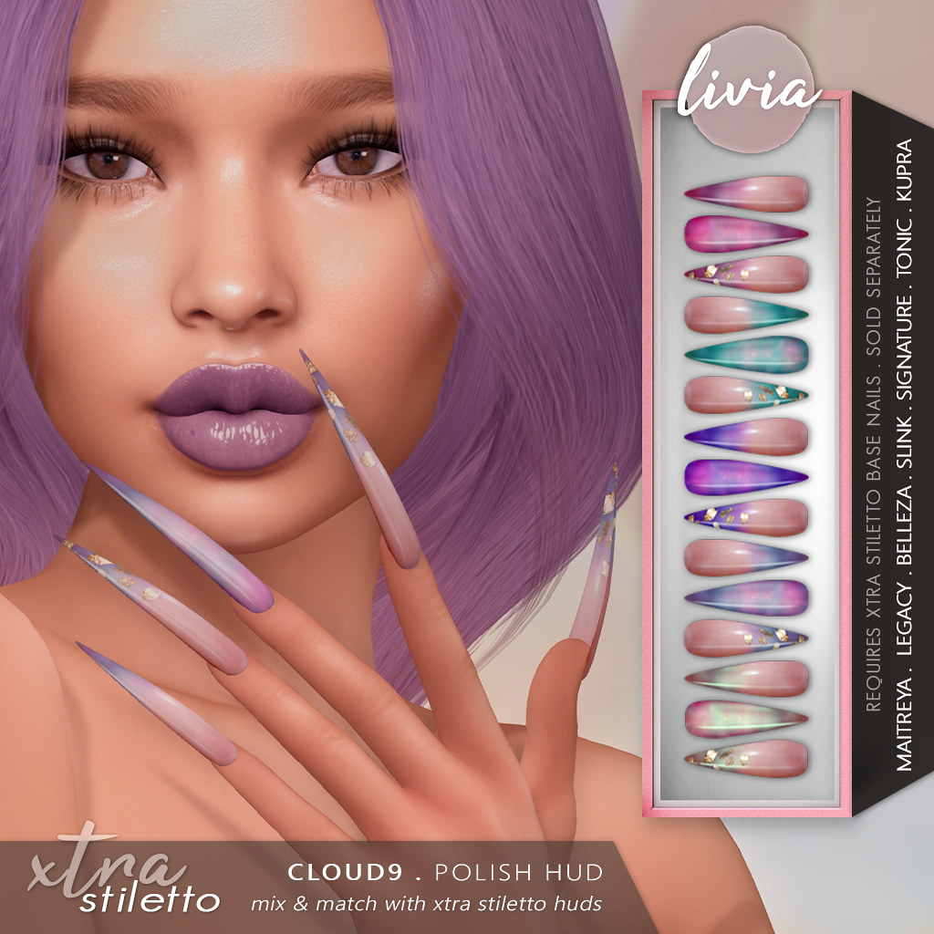 LIVIA // Xtra Stiletto HUD // Cloud9