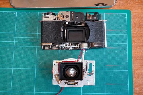 フィルムカメラ修理