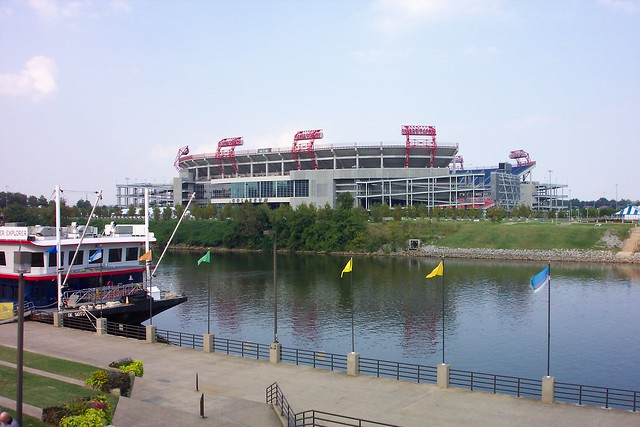 Nashville  Tennessee - Nissan Stadium - Tennessee Titans - Tennessee Tiger State University - Davidson County