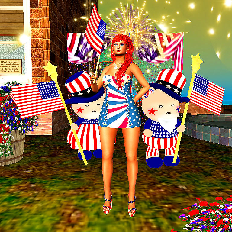 SLB18 S&H July 4 Outfit Narcisse