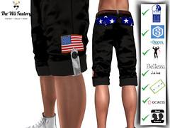 :TWF: USA Men Shorts
