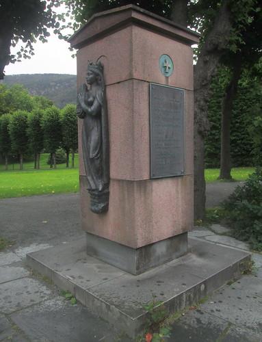 Monument To Norwegian Monarchs, Bergen
