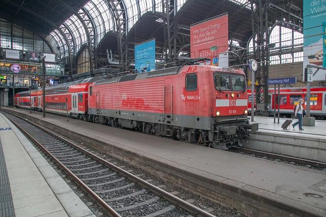 DB 112 169 Hamburg Hbf