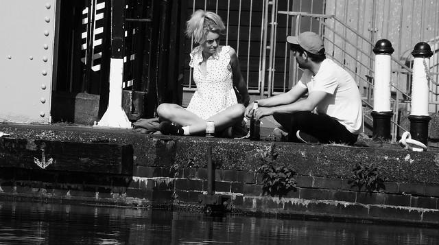 In The Sun By The Bridge 02