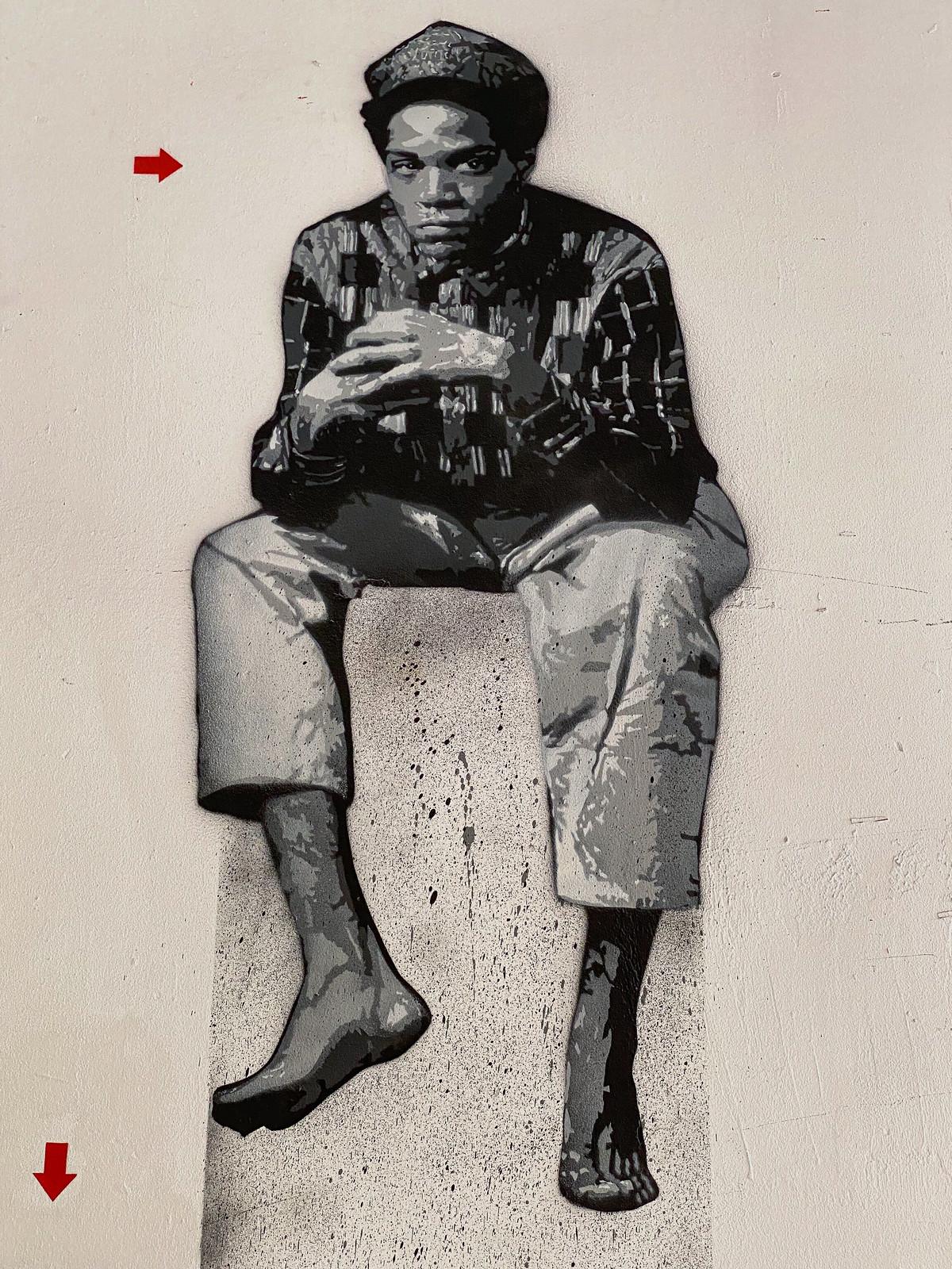 Basquiat by Jef Aérosol
