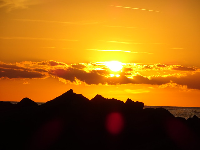 Sonnenuntergang in Ginostra