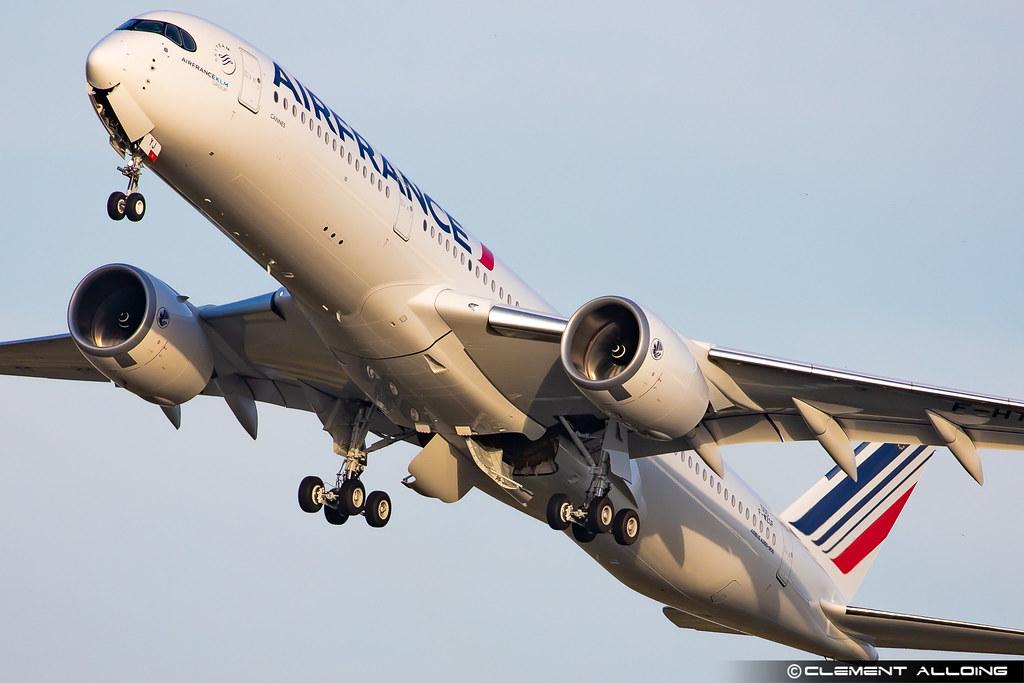 Air France Airbus A350-941 cn 500 F-WZGF // F-HTYJ