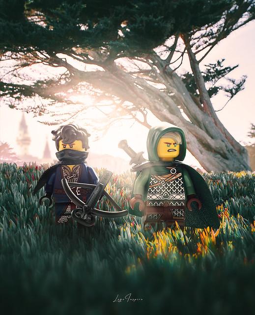 Medieval Jay and Lloyd