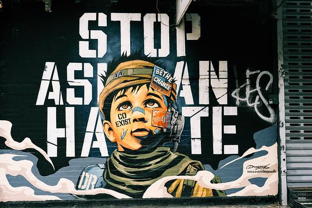 Stop Asian Hate mural