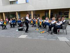 Platzkonzert vor dem Eingang zur Migros Horw (03.07.2021)