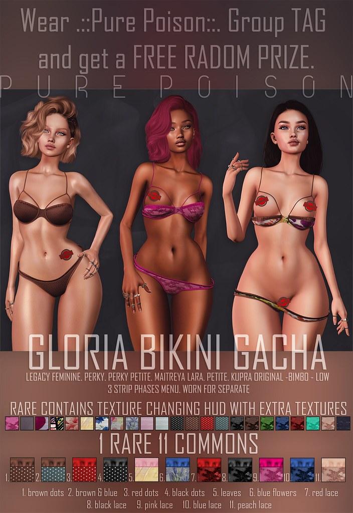 Pure Poison – Gloria Bikini – AD
