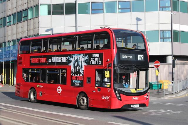Abellio London 2502, YY64TZB - Route 109   West Croydon Bus Station