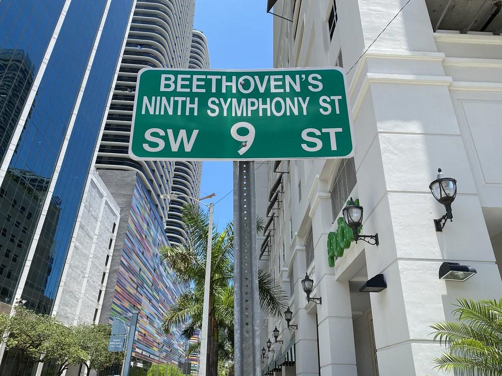 Beethoven's Ninth Symphony Street Brickell
