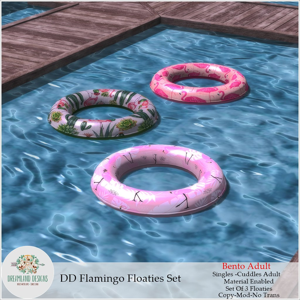 DD Flamingo Floaties Set Adult