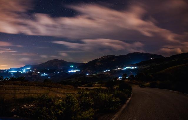 Cloudy Nightsky