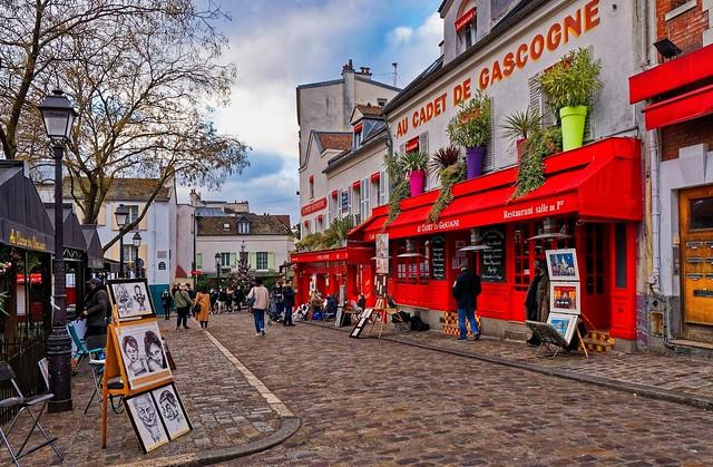 Montmartre / Place du Tertre / Au Cadet de Gascogne