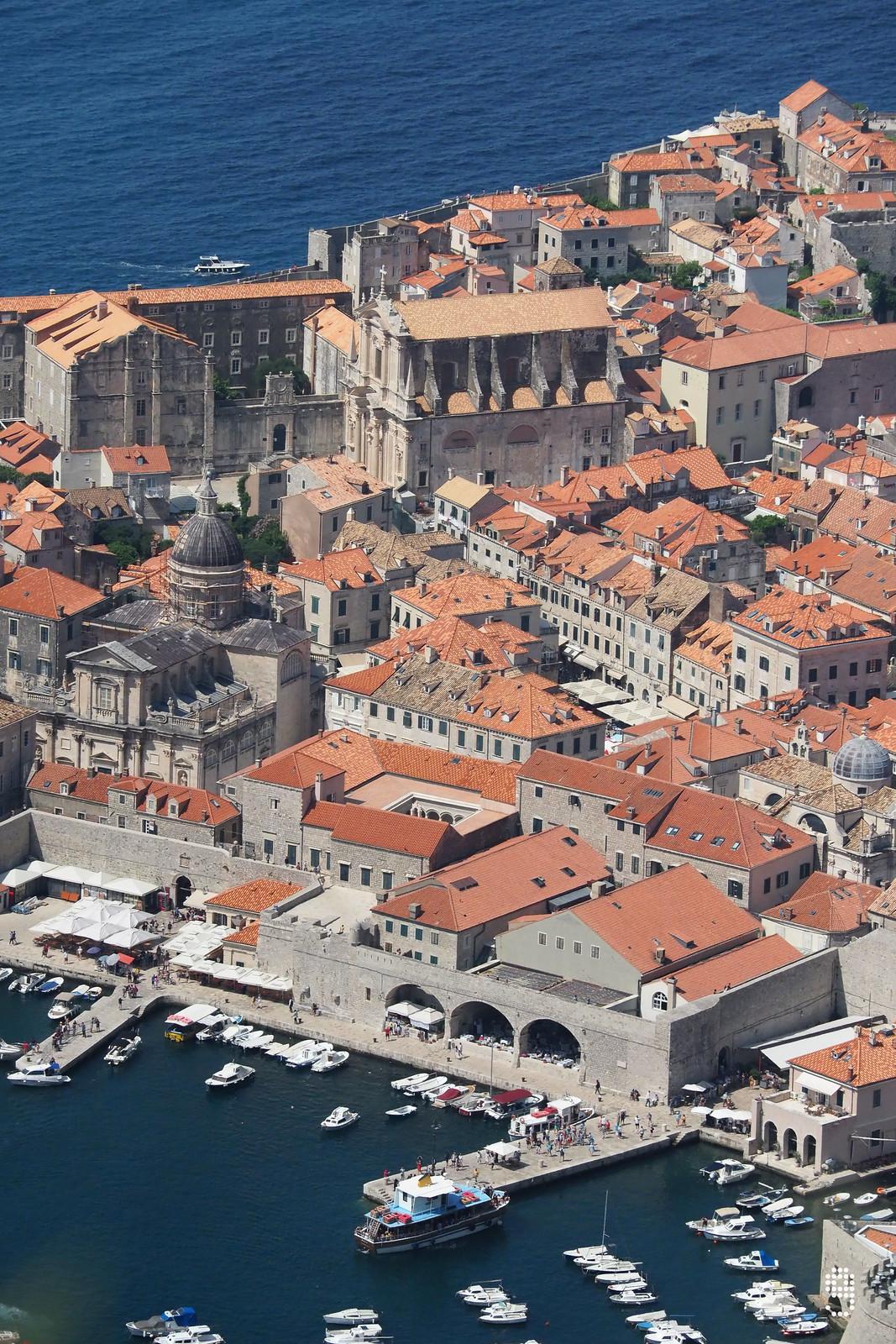 舊城區的港口碼頭