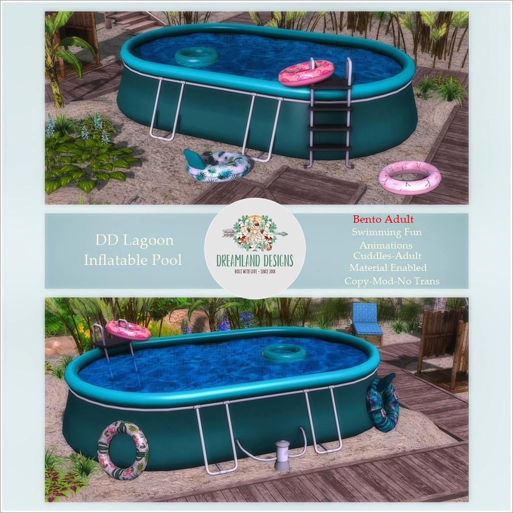 DD Lagoon Inflatable Pool-Adult