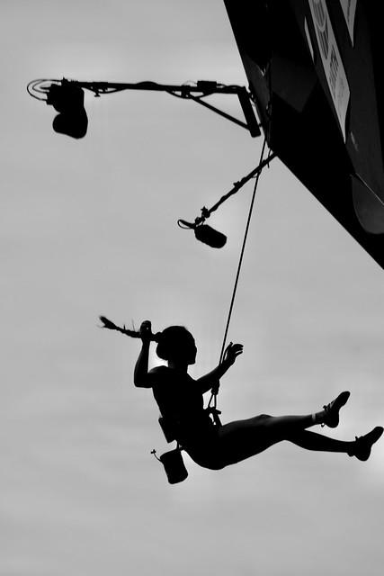 Julia Fiser is flying
