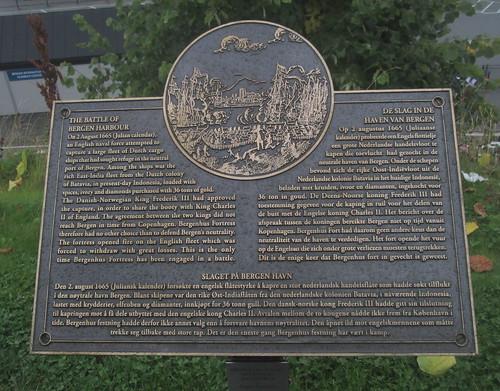 Battle of Bergen Harbour Memorial, Bergen