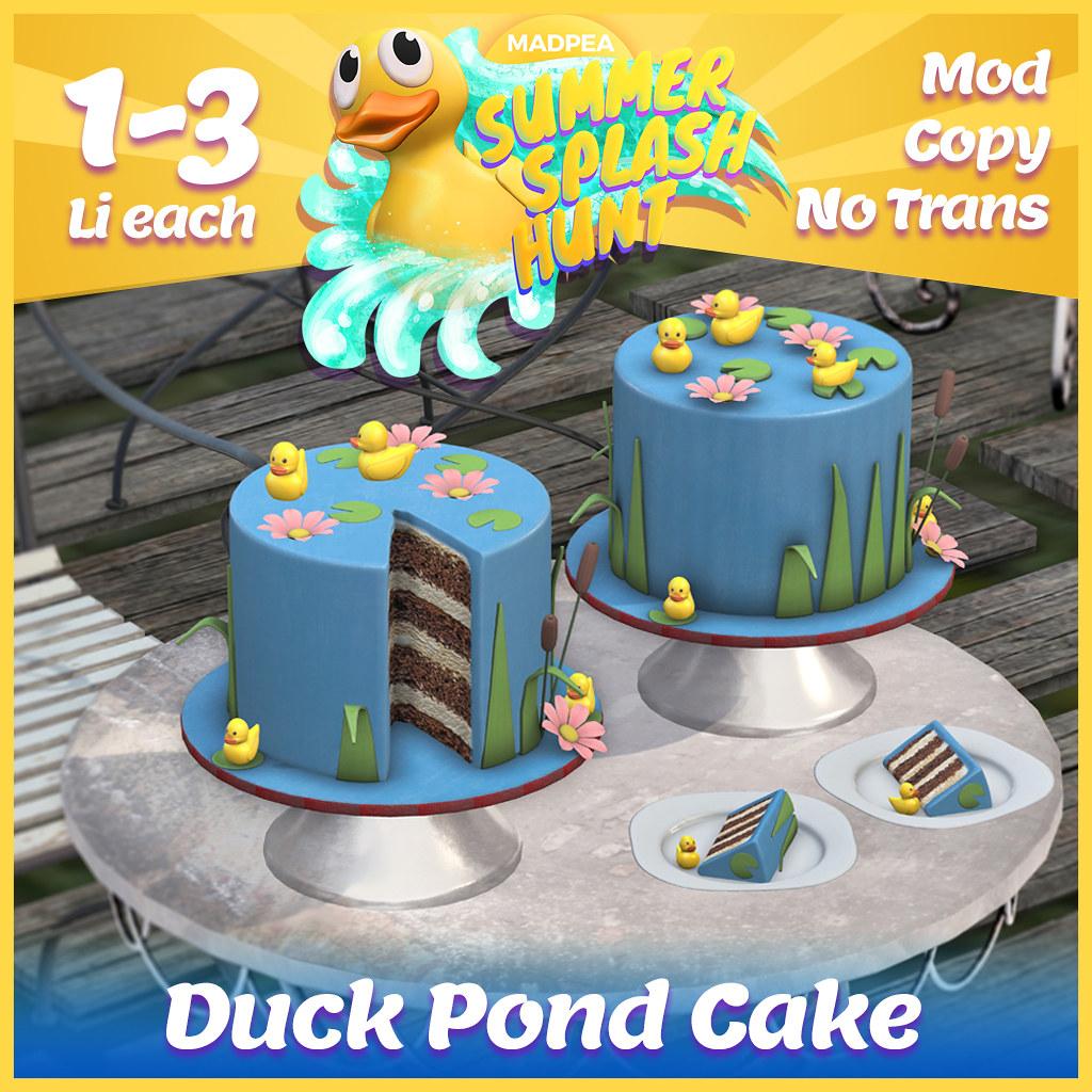Summer Hunt Prize Reveal: Duck Pond Cake