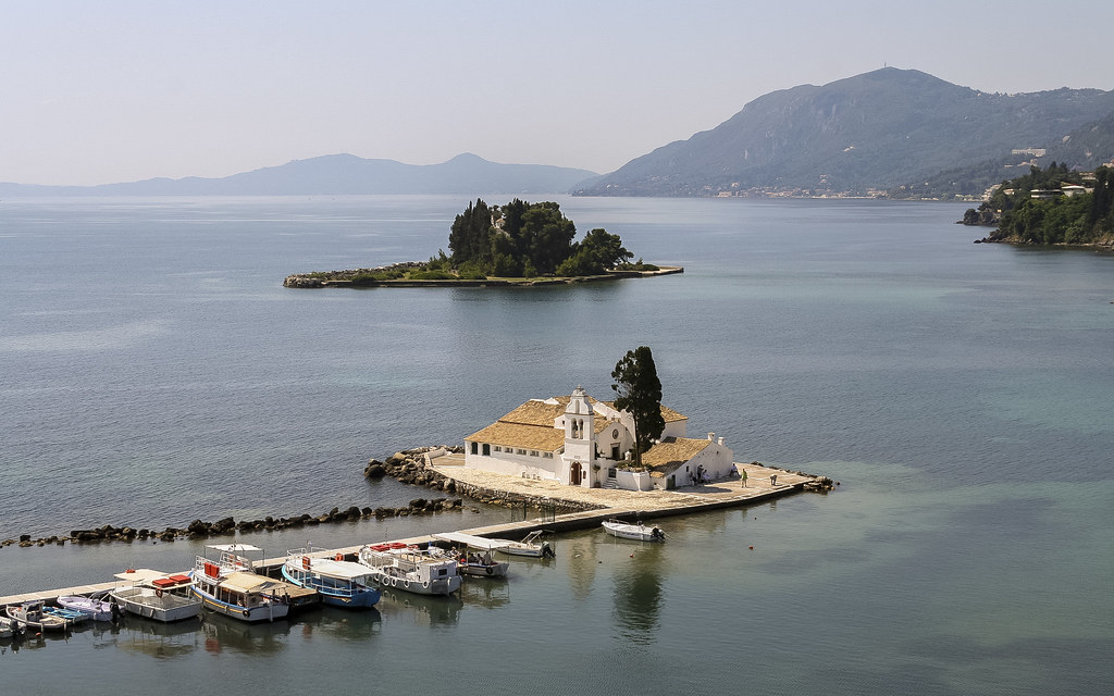 Monastery in the sea