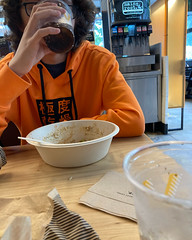 Took this kid out to lunch
