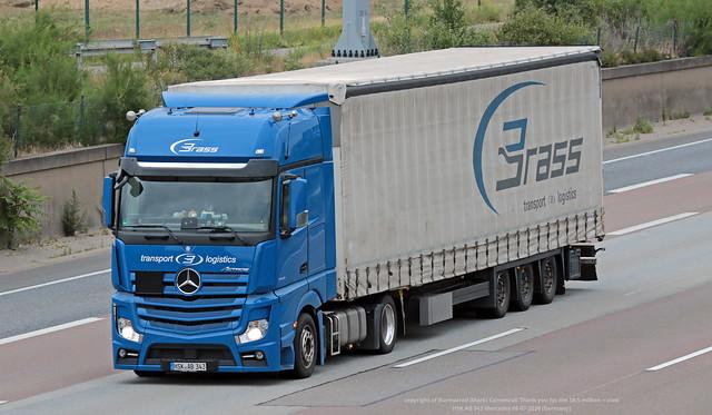 HSK AB 343 Mercedes 08-07-2020 (Germany)