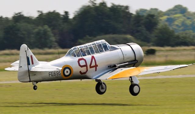 Noorduyn  MkIIB Harvard  G-BTXI FE695