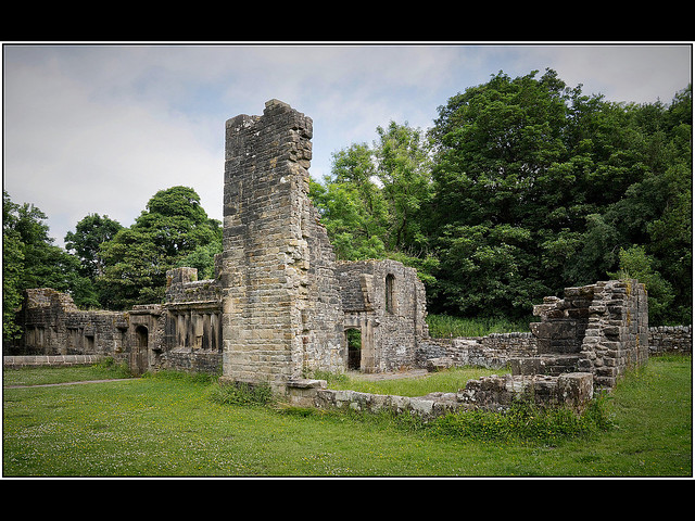 Wycoller Hall....ruins