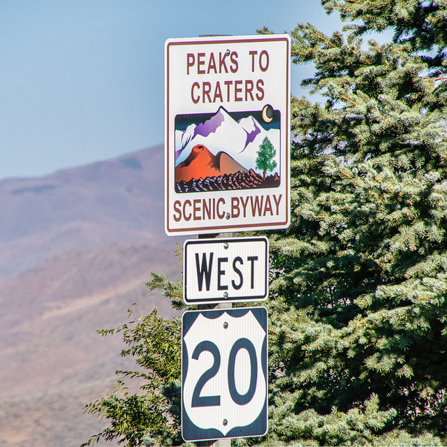 Peaks to Craters Byway