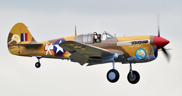 Curtiss P-40F Kittyhawk 41-19841 USAAC G-CGZP Lee's Hope