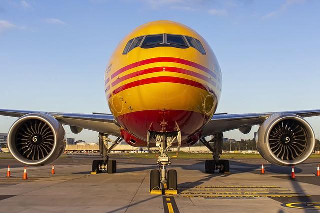 Kalitta Air (DHL) Boeing B777-FBL N775CK SYD-YSSY -2228