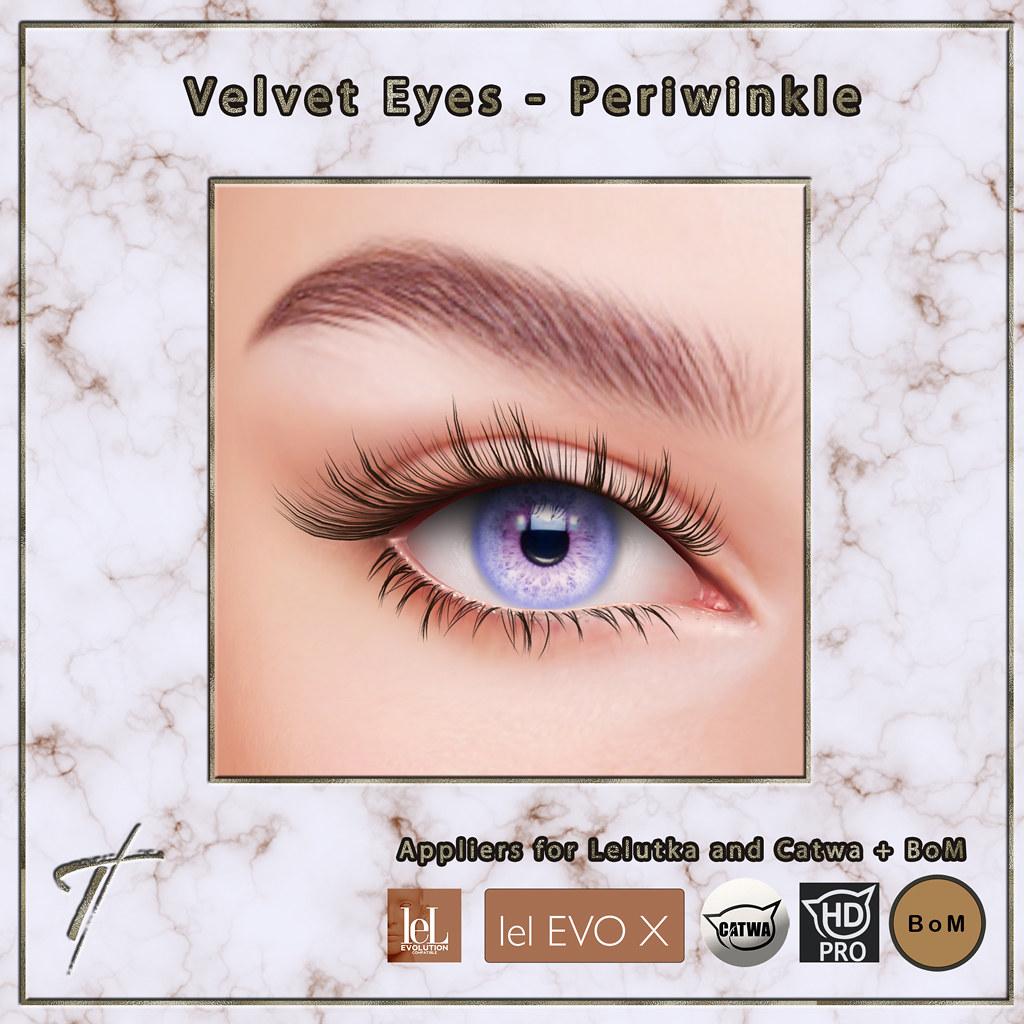 Tville – Velvet Eyes *periwinkle*