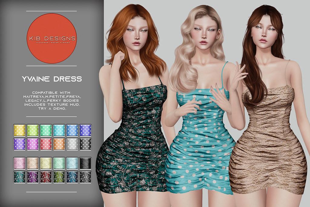 KiB Designs - Yvaine Dress @Designer Showcase 5th July