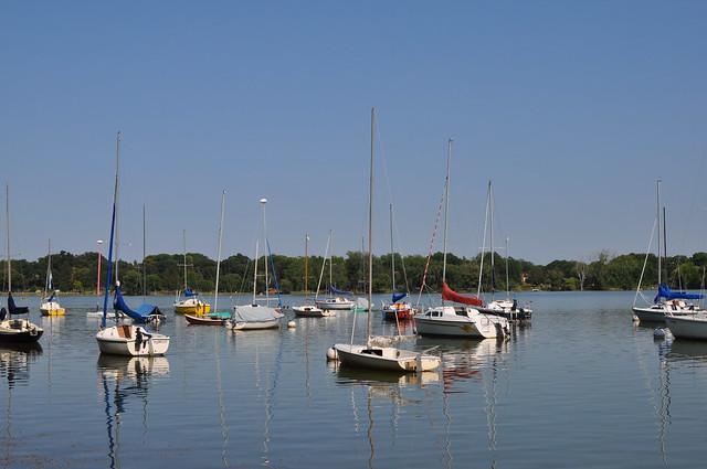 Lake Nokomis marina