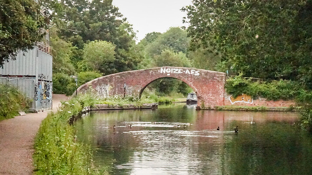 The canal at Kings Norton Avon Ring