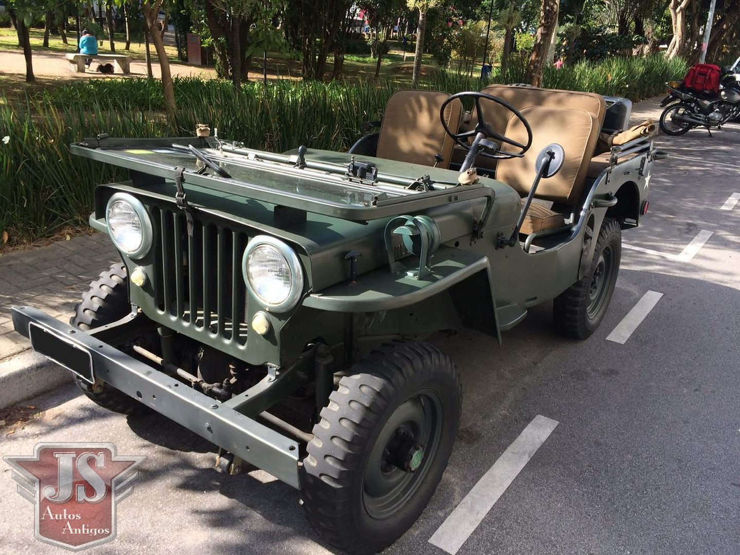 Jeep 1949 Willys Militar