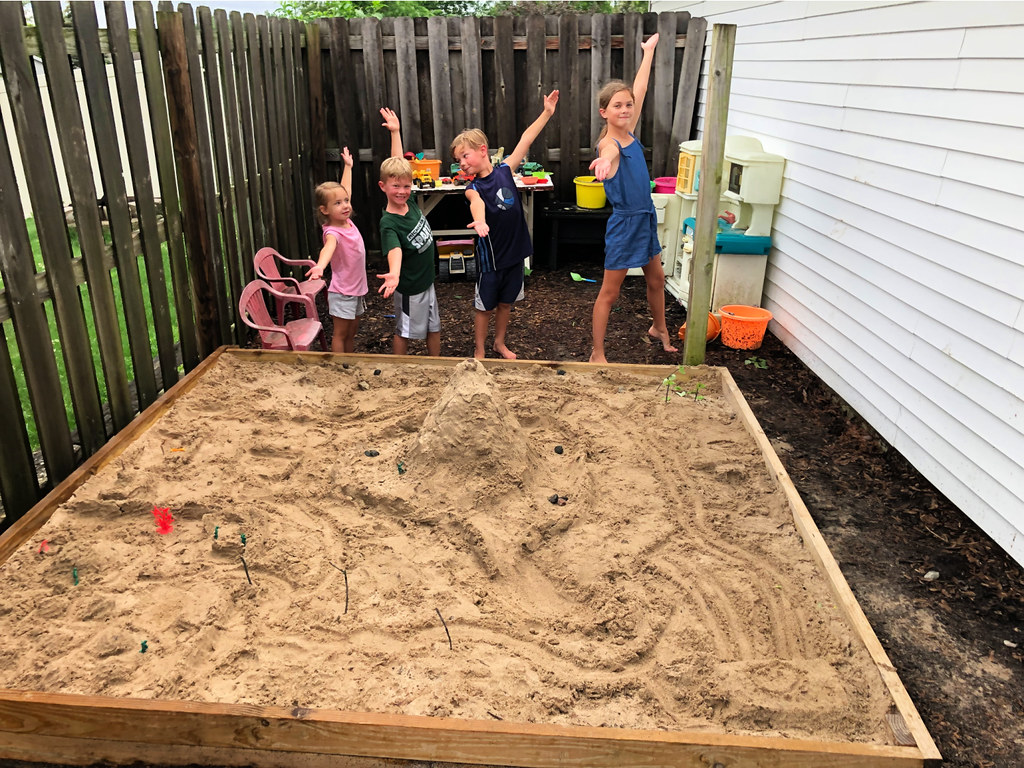 sandbox play area